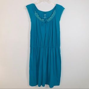 ⭐️3/25 Old Navy  Casual Dress Turquoise Size XL